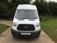 USED 2014 64 FORD TRANSIT 2.2 350 H/R P/V 1d 99 BHP 9 SEATER CREW VAN  9 SEATER CREW VAN, LONG WHEEL BASE