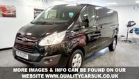 2016 FORD TRANSIT CUSTOM 2.0LTR 170PS 6 SPEED MANUAL GEARBOX