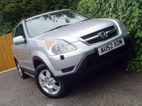 2002 HONDA CR-V 2.0 I-VTEC SE EXECUTIVE 5d AUTO 148 BHP £2699.00