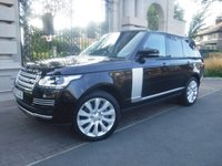 USED 2017 17 LAND ROVER RANGE ROVER 4.4 SDV8 VOGUE SE 5d AUTO 339 BHP *FINANCE ARRANGED*PART EXCHANGE WELCOME*SLIDING OPENING PANORAMIC ROOF*DUAL VIEW TV*