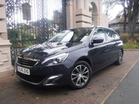 USED 2015 15 PEUGEOT 308 SW 1.6 BLUE HDI S/S SW ALLURE 5d 120 BHP *FINANCE ARRANGED*PART EXCHANGE WELCOME*1 OWNER*£0 FREE TAX*CRUISE*A/C*NAV*BLUETOOTH*ECO MODE*DAB RADIO