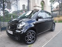 USED 2017 17 SMART FORFOUR 0.9 PRIME T 5d 90 BHP ****FINANCE ARRANGED****PART EXCHANGE WELCOME***SMART WARRANTY UNTIL 31/07/2020*LEATHER*CRUISE*BTOOTH*A/C
