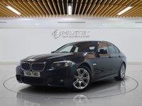 USED 2011 61 BMW 5 SERIES 2.0 520D M SPORT 4d AUTO 181 BHP FULL BMW MAIN DEALER SERVICE HISTORY | MEDIA PACK - BMW PRO