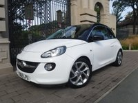 USED 2015 65 VAUXHALL ADAM 1.4 SLAM 3d 98 BHP ****FINANCE ARRANGED****PART EXCHANGE WELCOME*1 OWNER*PART LEATHER*REAR PS*CRUISE*BTOOTH*AC