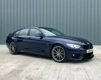 USED 2015 15 BMW 4 SERIES 2.0 420D M SPORT GRAN COUPE 4d 188 BHP