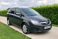 2012 VAUXHALL ZAFIRA 1.7 DESIGN CDTI ECOFLEX 5d, STUNNING CONDITION, SUPER CHEAP 7 SEAT FAMILY CAR £3695.00