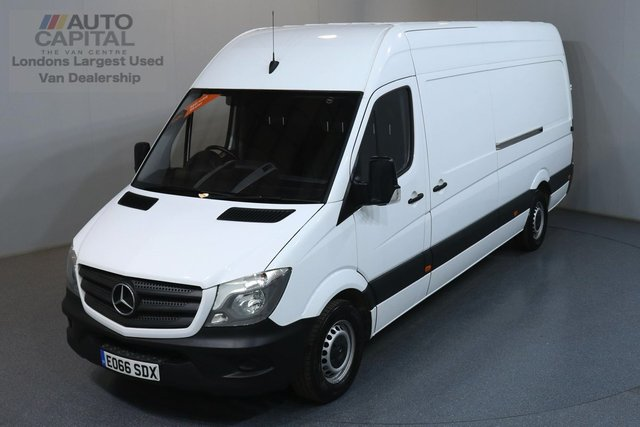 2016 66 MERCEDES-BENZ SPRINTER 2.1 313 CDI LWB 129 BHP ULEZ COMPLIANT  ONE OWNER FROM NEW
