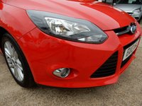 USED 2013 13 FORD FOCUS 1.6 TITANIUM ECONETIC TDCI 5d 104 BHP ONE OWNER,FULL HISTORY,TWO KEYS,USB AND AUX PORT,