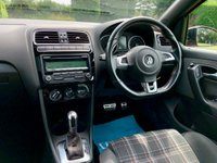 USED 2011 11 VOLKSWAGEN POLO VOLKSWAGEN POLO GTI S-A DSG 180 BHP, BEAUTIFUL COLOUR, 7 SERVICES, STUNNING CAR