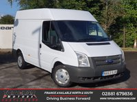 USED 2014 63 FORD TRANSIT 280 2.2 125 BHP SWB SEMI HI ROOF**NO VAT**CHOICE OF OVER 85 VANS**