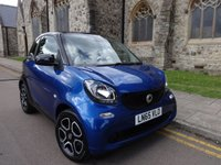 2015 SMART FORTWO 1.0 PRIME 2d 71 BHP £5995.00