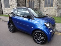 USED 2015 65 SMART FORTWO 1.0 PRIME 2d 71 BHP + ONE OWNER + RECENT SERVICE AND MOT +