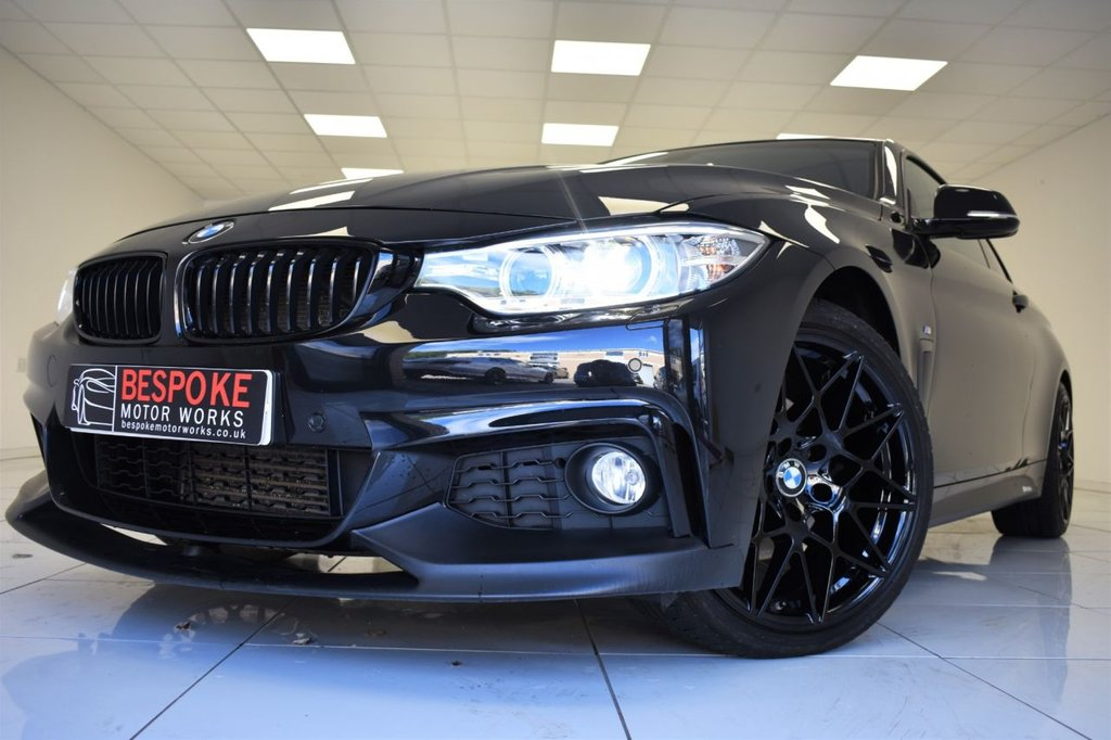 USED 2015 15 BMW 4 SERIES 420D M SPORT AUTOMATIC