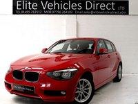 2014 BMW 1 SERIES 1.6 116D EFFICIENTDYNAMICS BUSINESS 5d 114 BHP £6991.00