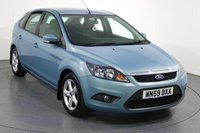 USED 2009 59 FORD FOCUS 1.6 ZETEC 5d 100 BHP FULL 10 Stamp SERVICE HISTORY