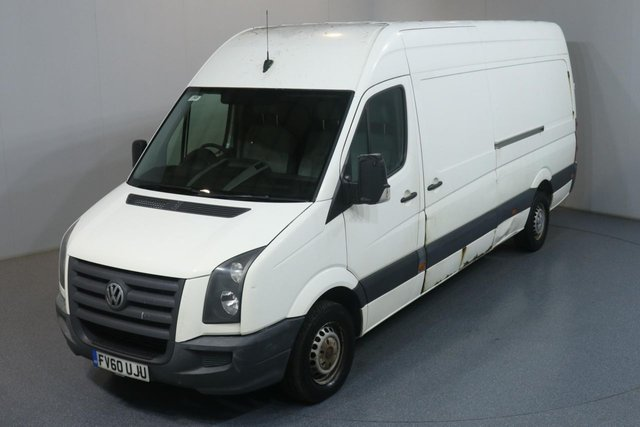 2010 60 VOLKSWAGEN CRAFTER 2.5 CR35 BLUE TDI 108 BHP NO VAT 2 OWNER FROM NEW