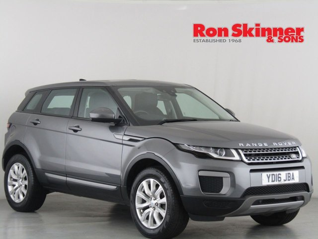 View our 2016 16 LAND ROVER RANGE ROVER EVOQUE 2.0 TD4 SE 5d 177 BHP