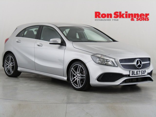 View our 2018 67 MERCEDES-BENZ A-CLASS 1.5 A 180 D AMG LINE 5d 107 BHP