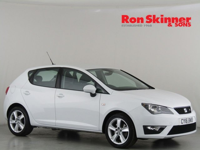View our 2016 16 SEAT IBIZA 1.2 TSI FR TECHNOLOGY 3d 109 BHP