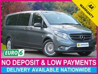 USED 2018 18 MERCEDES-BENZ VITO 119 CDI BluTEC TOURER AUTO LONG 8 SEAT MINIBUS A/C NAV PREP 8 SEATS AIR CONDITIONING SATELLITE NAVIGATION PREP