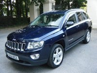 2012 JEEP COMPASS 2.1 CRD LIMITED 4WD 5d 161 BHP £5995.00