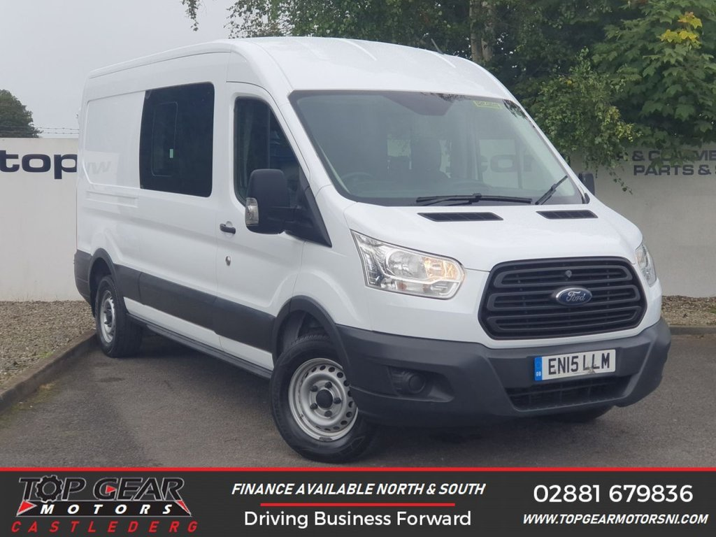 USED 2015 15 FORD TRANSIT 350 2.2 125 BHP L3 H2 DCB 7 SEATER**CHOOSE FROM 85 VANS**