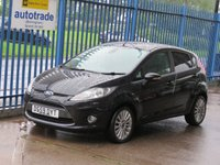 2010 FORD FIESTA 1.4 TITANIUM 5dr Cruise Privacy Alloys £SOLD