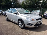 2011 FORD FOCUS 1.6 TDCI SPORT 5d WITH SAT NAV AND SPORTS  PACK £4000.00