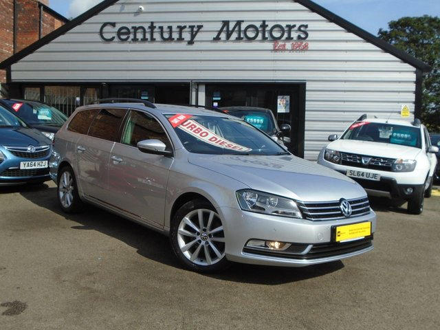 2014 14 VOLKSWAGEN PASSAT 2.0 TDI EXECUTIVE 5d - BEST ENGINE + SAT NAV