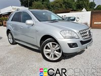2009 MERCEDES-BENZ M CLASS 3.0 ML350 CDI BLUEEFFICIENCY SPORT 5d AUTO 224 BHP £6995.00