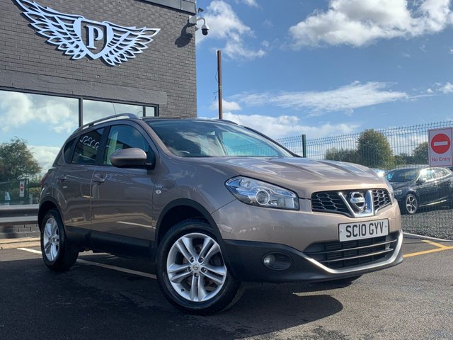 USED 2010 10 NISSAN QASHQAI 1.5 N-TEC DCI 5d 105 BHP AA WARRANTY,  MOT AND SERVICE INCLUDED