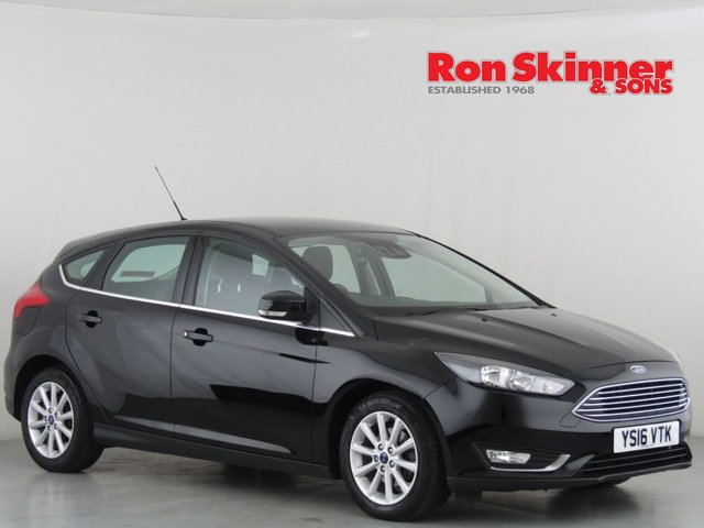 View our 2016 16 FORD FOCUS 1.5 TITANIUM TDCI 5d 118 BHP