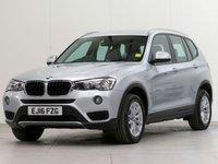 USED 2016 16 BMW X3 2.0 xDrive 20D SE 5d AUTO 188 BHP [£3,235 OF OPTIONS] PRONAV MEMORY SPORTSEAT F/MIRR