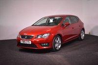 USED 2015 15 SEAT LEON 2.0 TDI FR 5d 184 BHP PARK PILOT + 184 BHP + £30 TAX