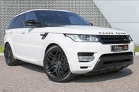 """USED 2016 16 LAND ROVER RANGE ROVER SPORT 3.0 SDV6 HSE 5d AUTO 306 BHP ULEZ EXEMPT/PAN ROOF/22""""ALLOYS"""