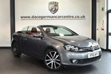 "USED 2011 61 VOLKSWAGEN GOLF 1.4 GT TSI 2DR 159 BHP excellent service history  Finished in a stunning metallic grey styled with 18"" alloys. Upon opening the drivers door you are presented with full red leather interior, satellite navigation, bluetooth, heated seats, cruise control, heated mirrors, multi-functional steering wheel, air conditioning, parking sensors"