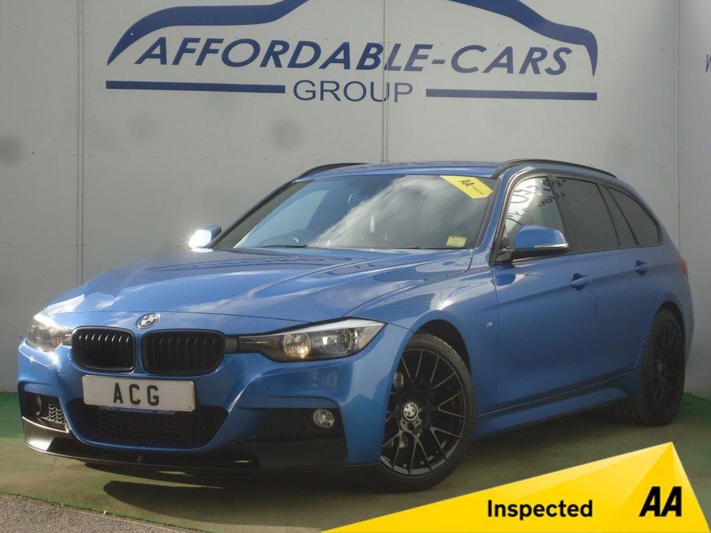 USED 2014 14 BMW 3 SERIES 2.0 320D M SPORT TOURING 5d 181 BHP