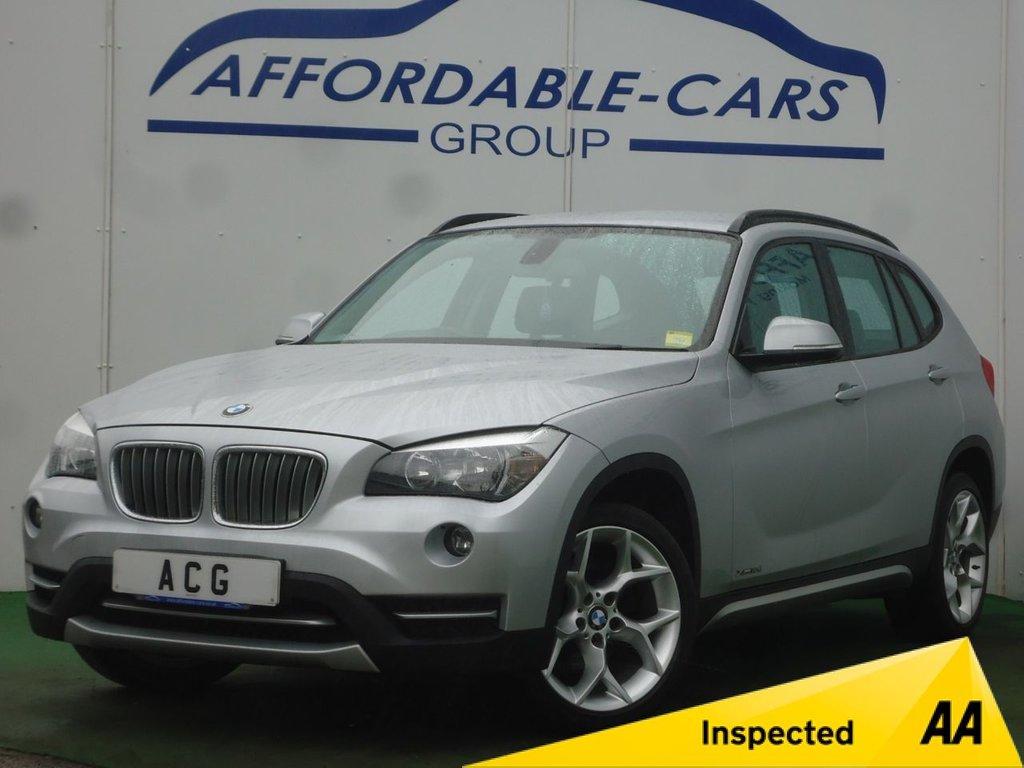 USED 2014 14 BMW X1 2.0 XDRIVE18D XLINE 5d AUTO 141 BHP
