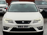USED 2014 14 SEAT LEON 2.0 TDI CR CR FR (Tech Pack) (s/s) 5dr Cruise/PrivacyGlass/TechPack