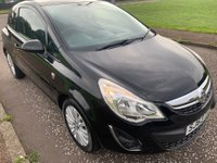 USED 2013 63 VAUXHALL CORSA 1.0 i ecoFLEX Energy 3dr Low Miles! £30 Tax! Full MOT!