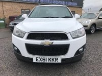 USED 2011 61 CHEVROLET CAPTIVA 2.2 VCDi LT 5dr (7 Seats) Low mileage