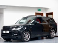 USED 2015 N LAND ROVER RANGE ROVER SPORT 3.0 SD V6 HSE Dynamic 4X4 (s/s) 5dr PAN ROOF + RED LTHR + 21' RIMS