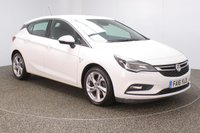 USED 2016 16 VAUXHALL ASTRA 1.6 SRI CDTI ECOFLEX S/S 5DR 1 OWNER 108 BHP FULL SERVICE HISTORY + FREE 12 MONTHS ROAD TAX + BLUETOOTH + CRUISE CONTROL + MULTI FUNCTION WHEEL + DAB RADIO + AIR CONDITIONING + RADIO/CD/USB + XENON HEADLIGHTS + ELECTRIC WINDOWS + ELECTRIC MIRRORS + 17 INCH ALLOY WHEELS