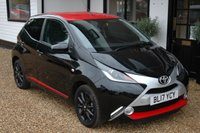 USED 2017 17 TOYOTA AYGO 1.0 VVT-I X-PRESS 5d 69 BHP One Owner with Full Service History