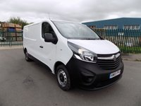 USED 2016 65 VAUXHALL VIVARO 1.6 2900 L2H1 CDTI P/V 1d 114 BHP ***Nationwide Delivery Available***