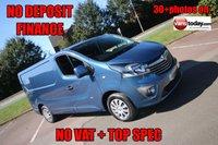 2014 VAUXHALL VIVARO 1.6 2700 L1H1 CDTI P/V SPORTIVE 114 BHP + NO VAT £SOLD