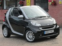 2007 SMART FORTWO CABRIO 1.0 PASSION AUTO (LOW MILEAGE)  £2790.00