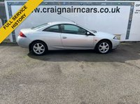 USED 1999 FORD COUGAR 2.0 16V 3d 129 BHP Two Owners 42000 Miles Full History+15 Stamps In The Book
