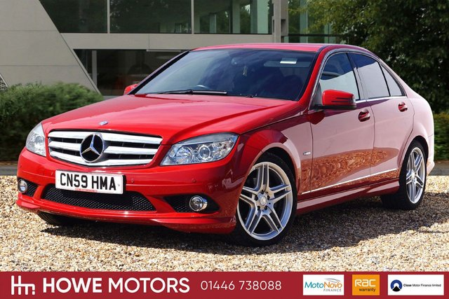 2009 59 MERCEDES-BENZ C CLASS 2.1 C250 CDI BLUEEFFICIENCY SPORT 4d AUTO 204 BHP NAVIGATION 18
