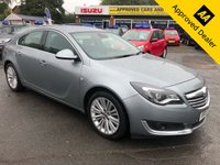 USED 2015 15 VAUXHALL INSIGNIA 2.0 TECH LINE CDTI ECOFLEX S/S 5d 138 BHP IN METALLIC SILVER WITH 59,000 MILES AND A FULL SERVICE HISTORY! APPROVED CARS AND FINANCE ARE PLEASED TO OFFER THIS VAUXHALL INSIGNIA 2.0 TECH LINE CDTI ECOFLEX S/S 5 DOOR 138 BHP IN METALLIC SILVER WITH 59,000 MILES AND A FULL SERVICE HISTORY. THIS VEHICLE HAS GOT A GREAT SPEC SUCH AS ALLOY WHEELS, SATELLITE NAVIGATION, CLIMATE CONTROL, CRUISE CONTROL, DAB RADIO, ELECTRIC WINDOWS AND MIRRORS AND MUCH MORE. THIS VEHICLE HAS A GREAT SPECIFICATION AND HAVE BEEN WELL MAINTANED NOT A VEHICLE TO BE MISSED FOR FURTHER INFORMATION PLEASE CALL ON 01622 (871555).